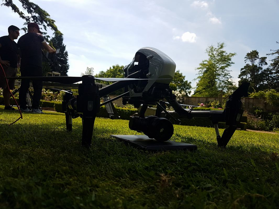 Drone Hire TV Crew- Production Drone Filming Kent, South East, London