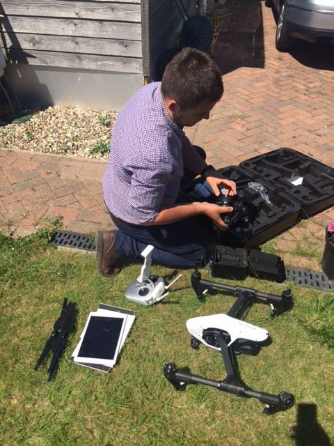 Aerial photography- Property marketing Kent, South East