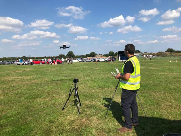 Drone operator Kent, South East UK. Hire a drone operator in London, Kent, Sussex and the South East. CAA Approved legal drone operators.